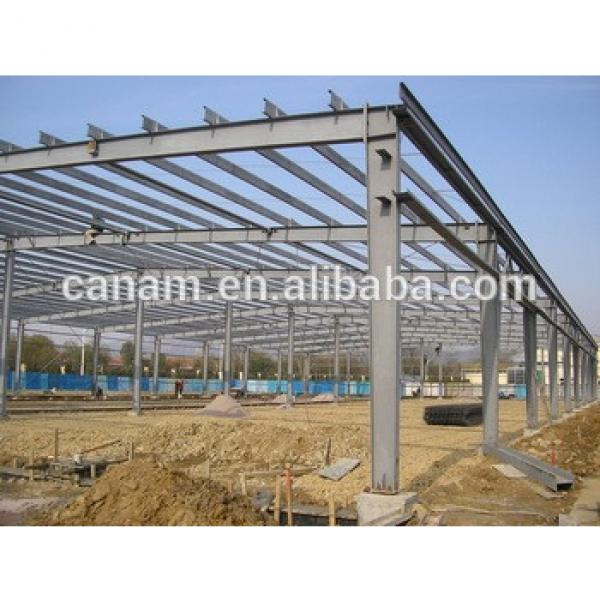 Prefabricated house materials steel beam frame #1 image