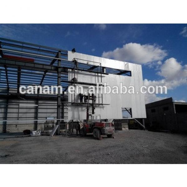 Prefabricated steel structure warehouse selled worldwide steel structure warehouse #1 image