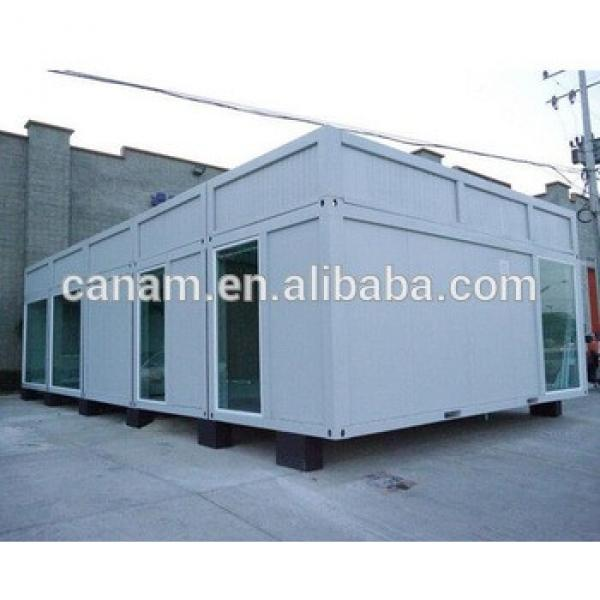steel container house prefab temporary house of refugee #1 image