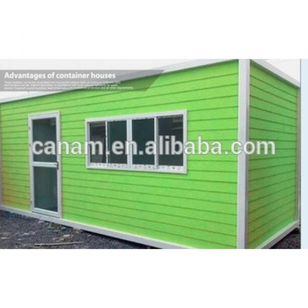 candy color sandwich panel container house modular prefab house #1 image