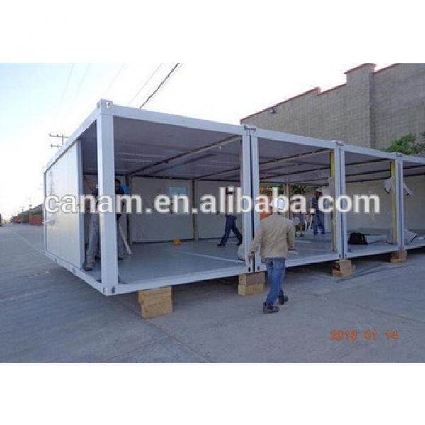 quick installed container cabin portable prefab mini temporary labor camp #1 image