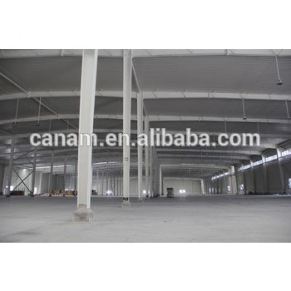 New structural steel frame warehouse construction #1 image