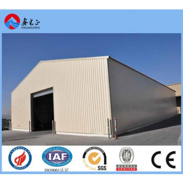 cheap oversea steel warehouse construction made in china steel structure workshop #1 image
