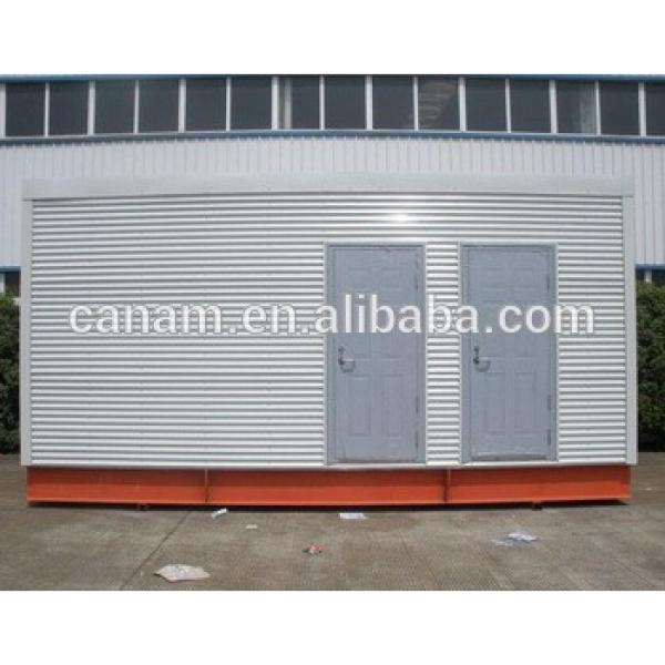 steel structure mobile toilet prefab modular house #1 image