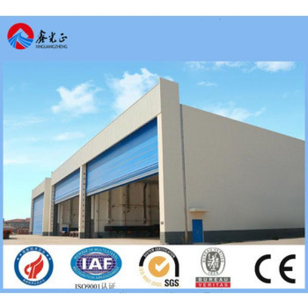 Prefabricated steel structure building made in china steel structure company founded in 1996 #1 image