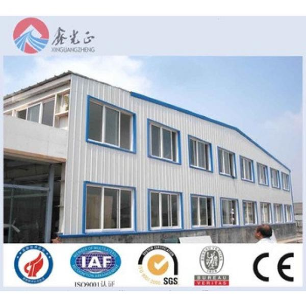low cost prefab warehouse in china steel structure workshop building mannufacture #1 image