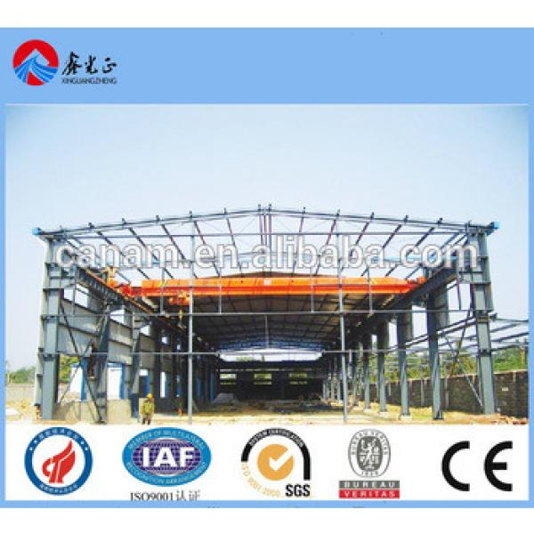 export Africa high quality and lowest price steel structure warehouse workshop factory founded in 1996 #1 image