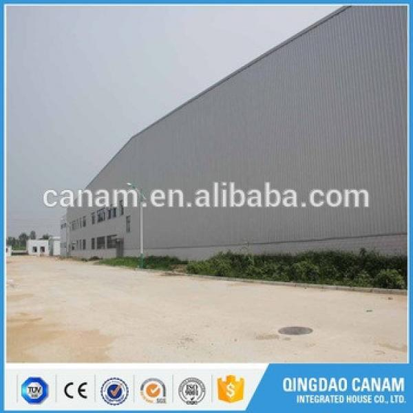 new anti-earthquake portal frame steel structure warehouse building Price #1 image
