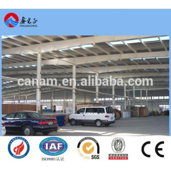 CE Certification high quality and lowest price steel structure warehouse #1 image