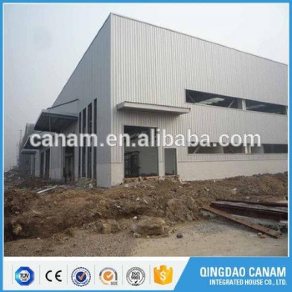 Light steel structure building prefabricated construction workshop #1 image