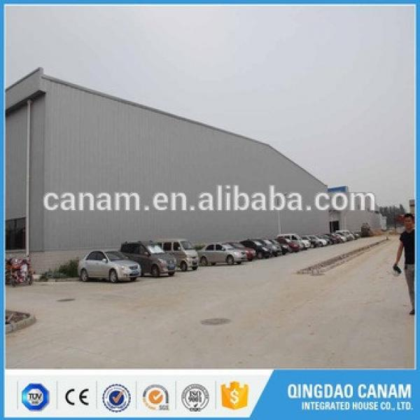Light steel structure building prefabricated construction logistic warehouse in Uzbekistan #1 image