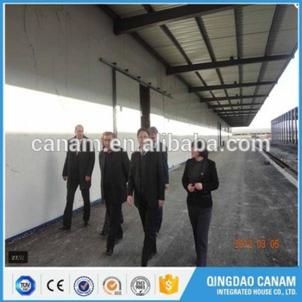 China supplier top prebuilt industrial construction steel prefab workshop building #1 image