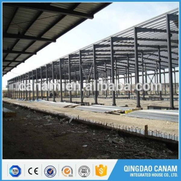 China factory price wholesale light steel structure prefab building design for warehouse #1 image