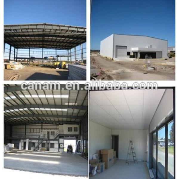 Flexible Design Prefab Structural Steel Constructed Aircraft Hangar #1 image