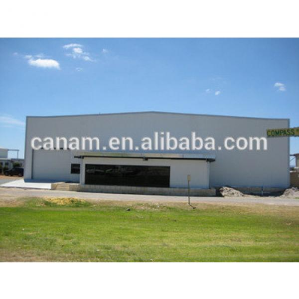 fast install construction steel structure aircraft hangar #1 image