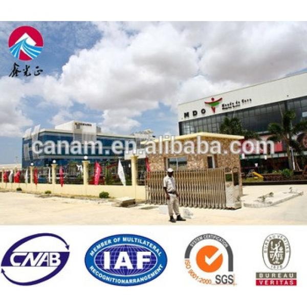 china suppliers prefab homes steel structure buildings for shopping mall #1 image
