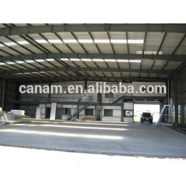 fabricated warehouse steel structure hangar buildings #1 image