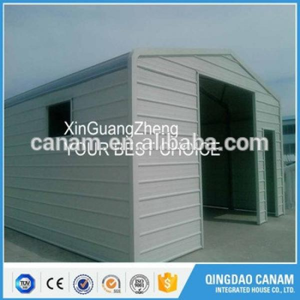 Chinese construction steel structure prefabricated house Small warehouse #1 image