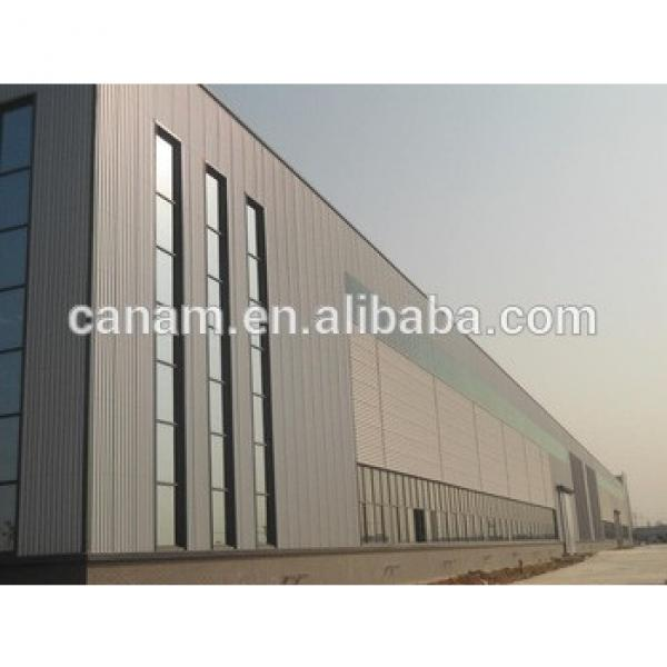 china supplier two story steel structure warehouse for America #1 image
