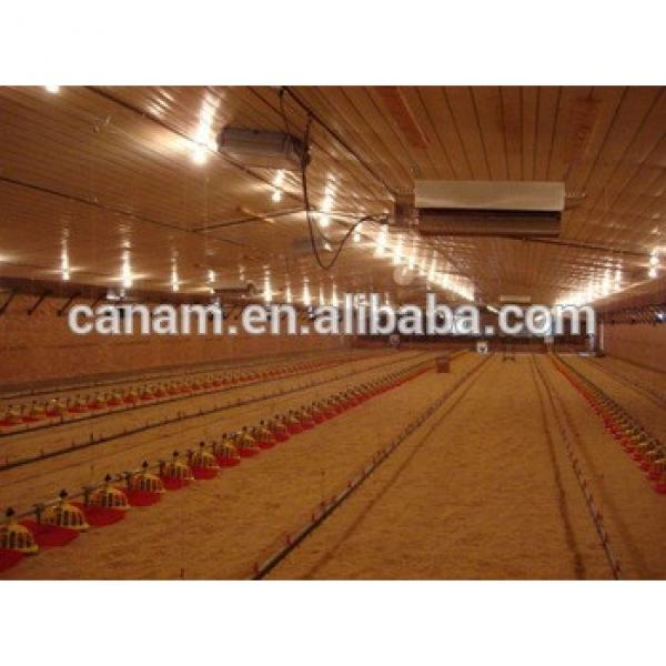 china supplier Prefabricated steel structure chicken house poultry farming #1 image