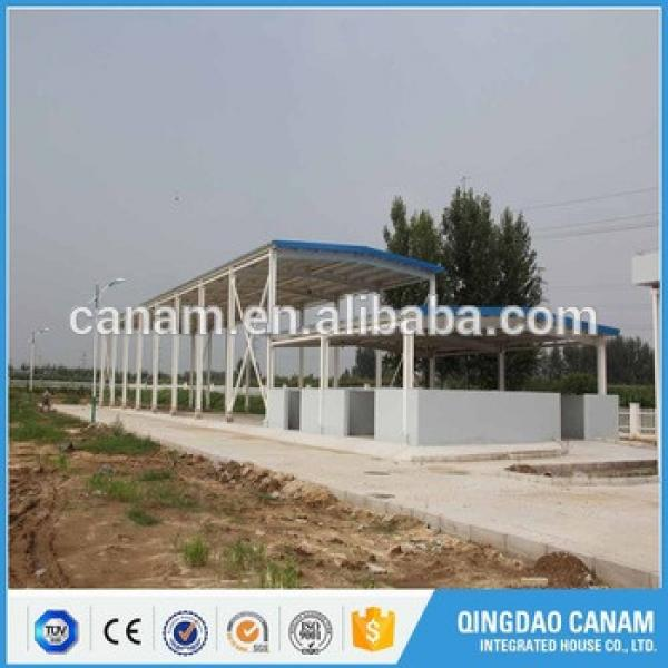 Cheap price and high quanlity steel structure buildings for gas station #1 image