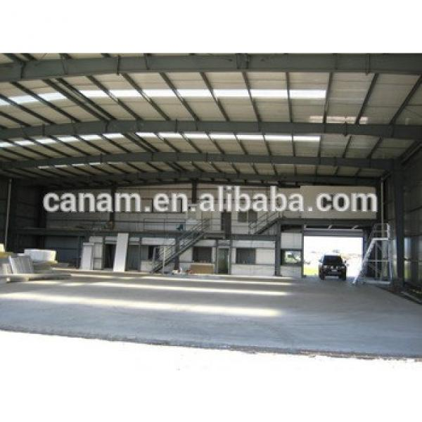 Chinese Design manufacture steel structures for workshop warehouse hangar building #1 image