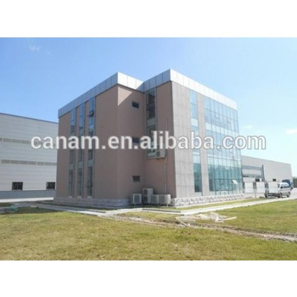China factory price prefabricated steel structure building workshop #1 image