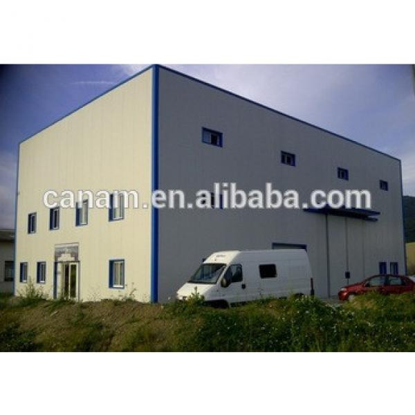 Metal Building Prefabricated Construction For steel structure workshop #1 image