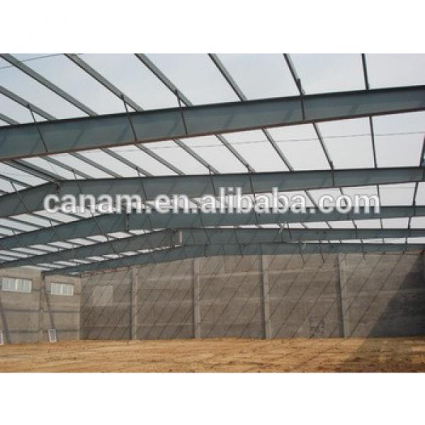 China manufacturing company prefabricated steel structure building with high quality #1 image