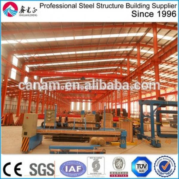 Chinese Prefabricated Warehouse Building Light Steel Roof Construction Structures #1 image