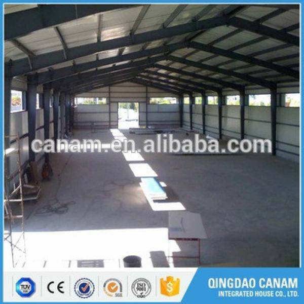 Factory price prefabricated steel structure building warehouse #1 image