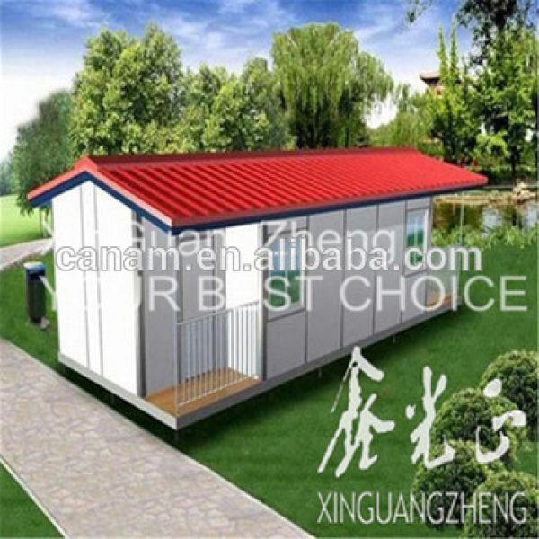 ready made steel structure prefabricated house building #1 image