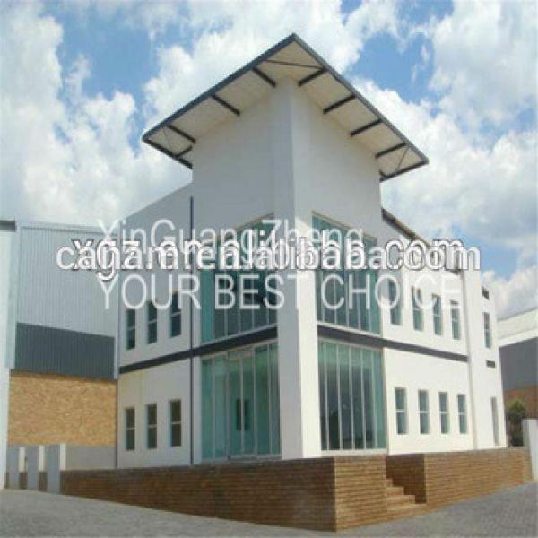 Hot sale cheap prefab steel structure house housing building #1 image