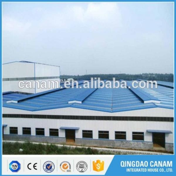 famous steel structure buildings prefab houses steel structure warehouse #1 image