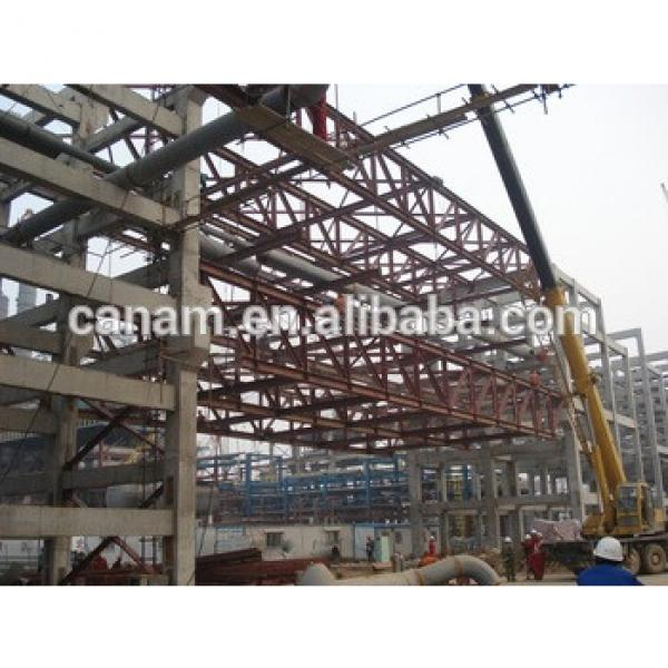 Beautiful Prefabricated Steel Structure Building workshop Made By China Professional Steel Structure Manufacture #1 image