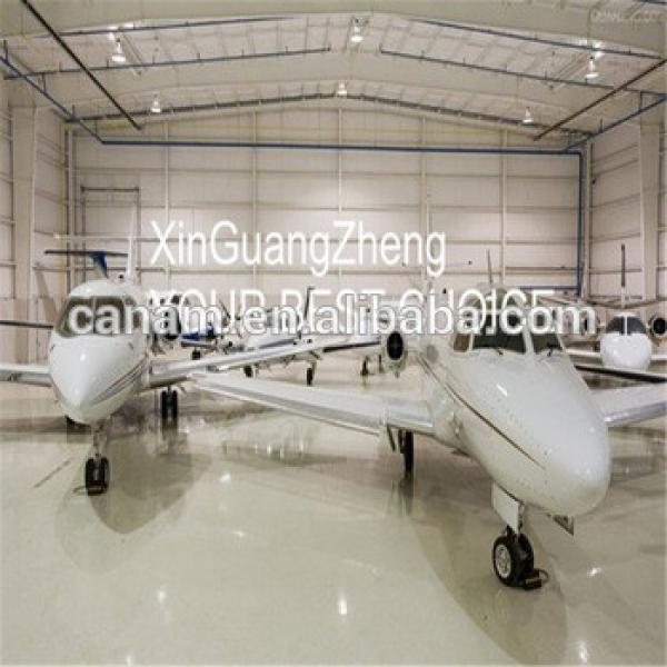 Alibaba China steel structure building sliding door hangar #1 image