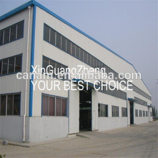 Super High Quality steel structure warehouse in mexico with steel roof trusses #1 image