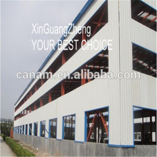 Golden Supplier prefabricated steel structure building in workshop by steel beam #1 image