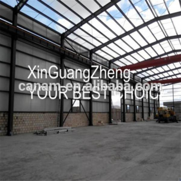 Commercial Cheap prefabricated steel structure building in warehouse by steel beam #1 image