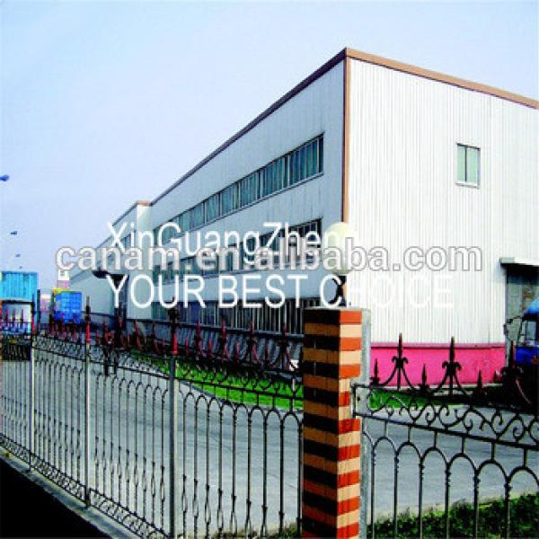 China Manufacturer prefabricated steel structure building in warehouse by steel beam #1 image