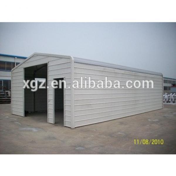 Simple light Steel Structure Garage #1 image