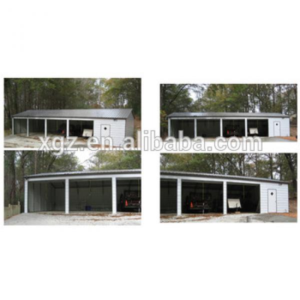 Prefabricated Good Quality Light Steel Structure Garage #1 image