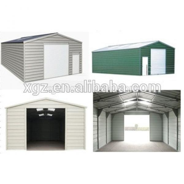 Portable and low cost Steel Structure Garage for car parking #1 image