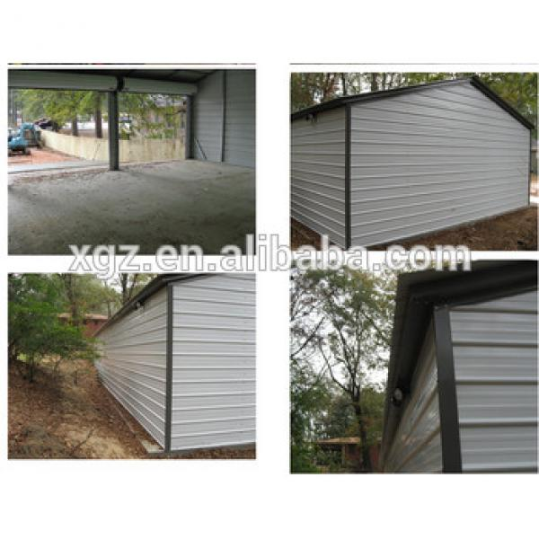 Beautiful Design Steel Structure Garage For Four Cars #1 image