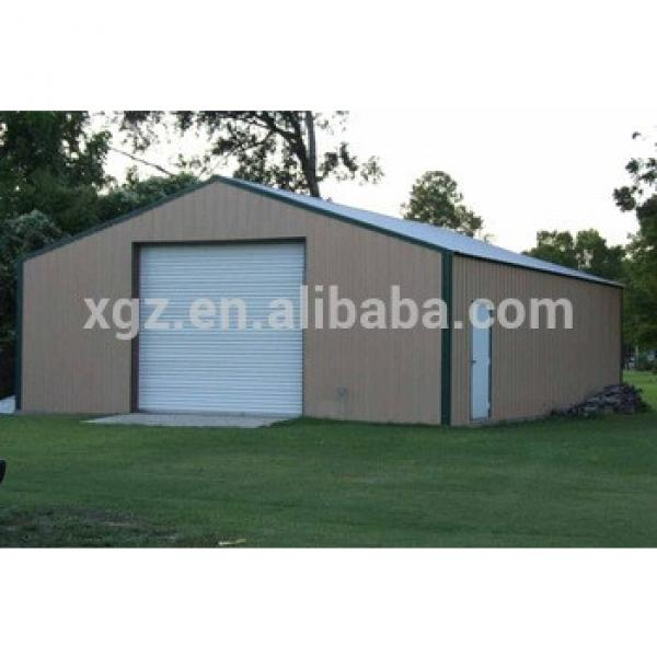 cheap simple and install fast light steel structure carport warehouse #1 image
