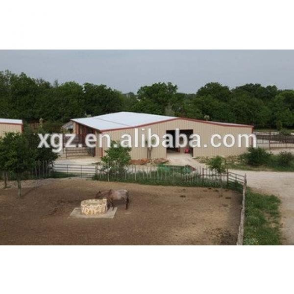 ISO & CE standard Qatar Project Low Cost Prefabricated Steel Structure Building For Livestock Farm #1 image