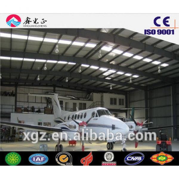 Prefabricated buildings/Steel structure car garage,carport,aircraft garage(JW-16116) #1 image