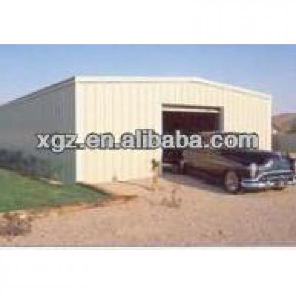 Prefab low cost steel carport #1 image