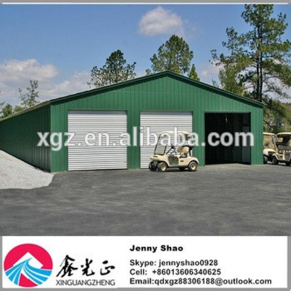 Fast and Easy Assembly steel structure multi shed steel carport #1 image