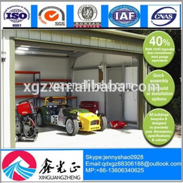 Hign Quality Fast and easy Assembly Economic Steel Structure Garage/ Carport #1 image